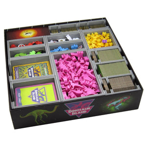 Folded Space Box Insert for Dinosaur Island & Expansion