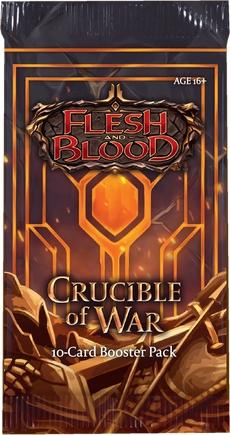 Flesh and Blood TCG Crucible of War 1st Edition Booster