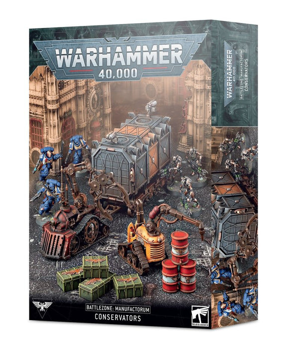 Warhammer 40,000 Battlezone Manufactorum Conservators