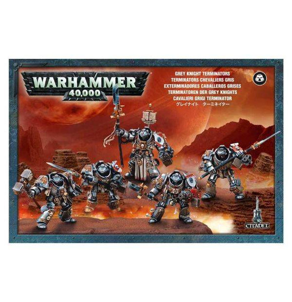 Warhammer 40,000 Grey Knight Terminators