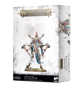 Warhammer Age of Sigmar Lumineth Realm-Lords Avalenor, the Stoneheart King