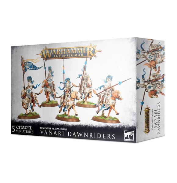 Warhammer Age of Sigmar Lumineth Realm-Lords Vanari Dawnriders