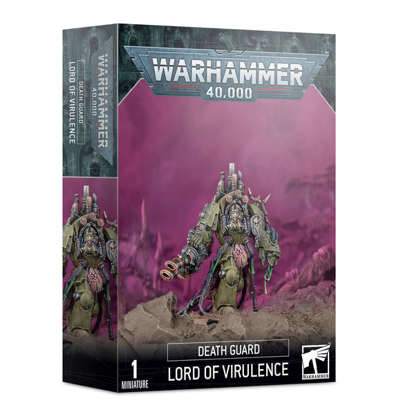 Warhammer 40,000 Chaos Space Marines Death Guard The Lord of Virulence