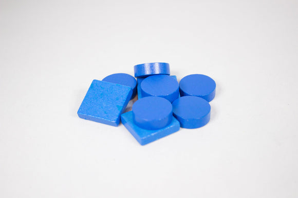 Catan Cities & Knights Wood Replacement Pieces - Blue