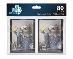 Star City Games Standard Card Game Sleeves 80ct Creature Collection Delver of Squeakrets