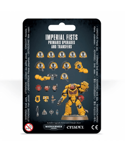 Warhammer 40,000 Imperial Fists Primaris Upgrades and Transfers