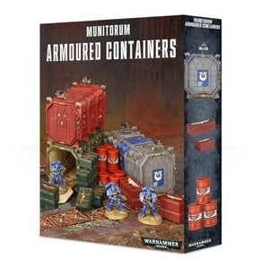 Warhammer 40,000 Munitorium Armored Containers