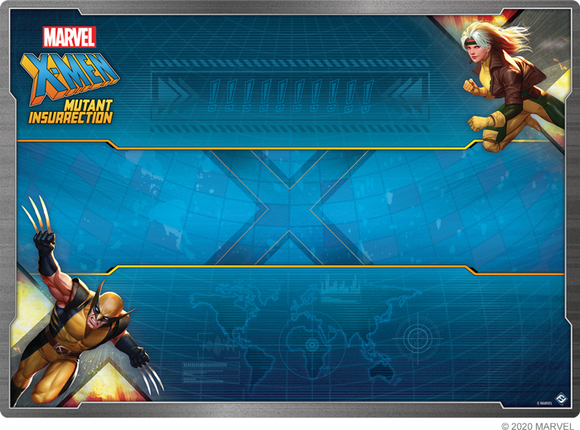 X-Men: Mutant Insurrection Playmat