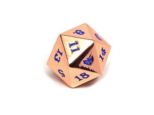 Easy Roller Rose Gold Electric Blue Single D20