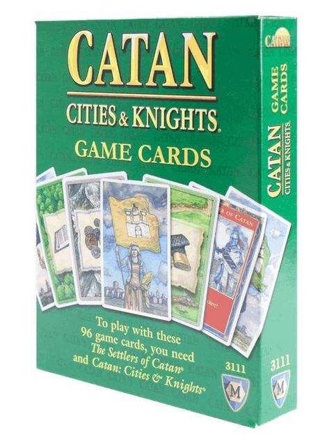 Catan: C&K Replacement Cards