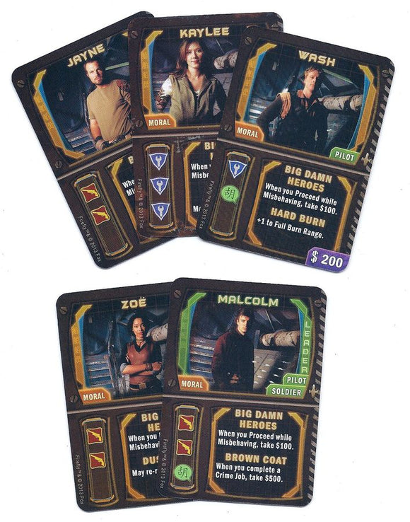 Firefly: The Game – Promo Card Pack