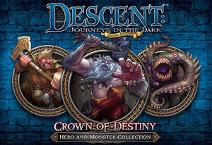Descent: Journeys in the Dark (Second Edition) – Crown of Destiny Hero & Monster Collection