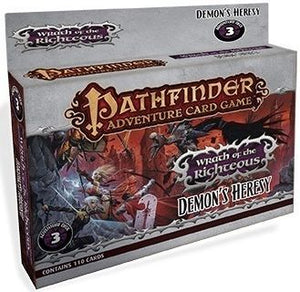 Pathfinder Adventure Card Game: Wrath of the Righteous Adventure Deck 3 – Demon's Heresy