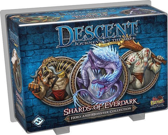 Descent: Journeys in the Dark (Second Edition) – Shards of Everdark Hero and Monster Collection