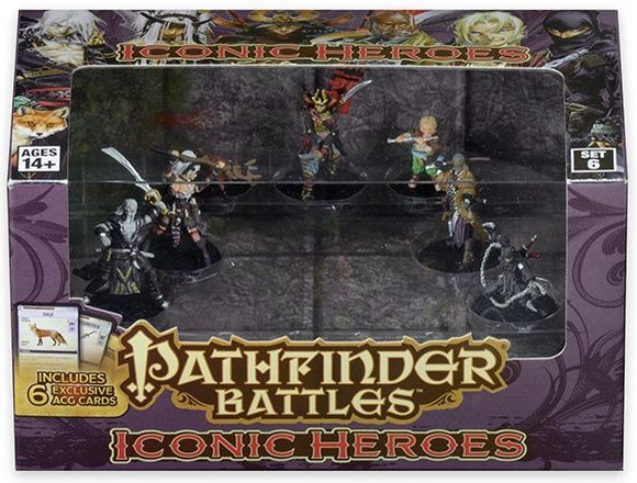 Pathfinder Battles Iconic Heroes Set 6