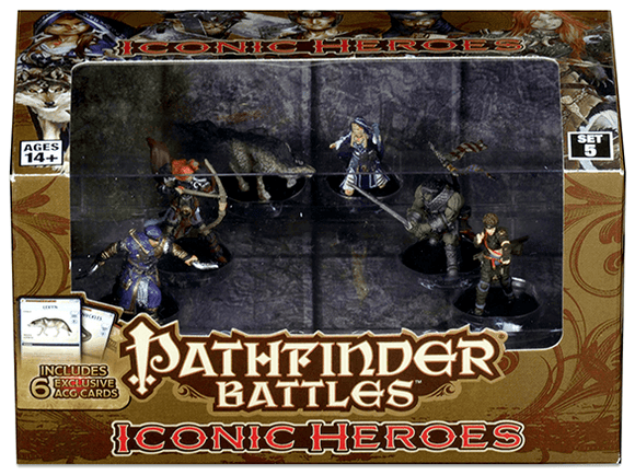Pathfinder Battles Iconic Heroes Set 5