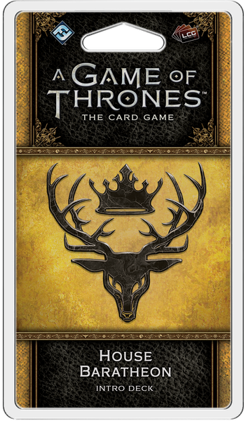 A Game of Thrones: LCG (Second Edition) – House Baratheon Intro Deck