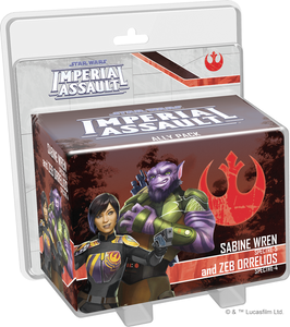 Star Wars: Imperial Assault - Sabine Wren and Zed Orrelios Ally Pack