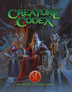 Creature Codex: Tome of Beasts 2 (D&D 5e Compatible)