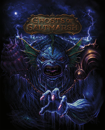 D&D 5e Ghosts of Saltmarsh - Limited Edition Hobby Shop Cover