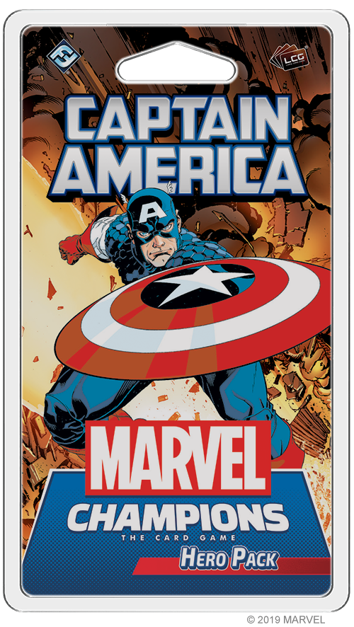 Marvel Champions: The Living Card Game - Captain America Hero Pack
