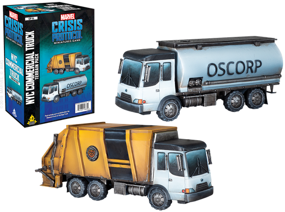 Marvel: Crisis Protocol - Commercial Truck Terrain Pack