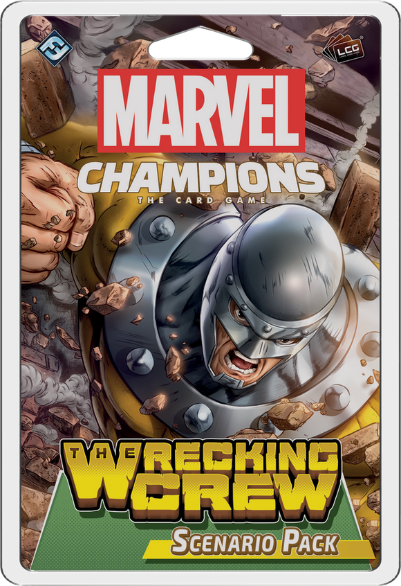 Marvel Champions: The Living Card Game - Wrecking Crew Scenario Pack