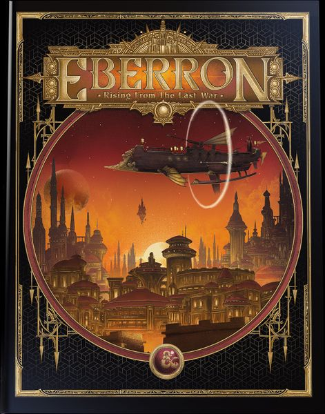 D&D 5e Eberron: Rising from the Last War - Limited Edition Hobby Shop Cover