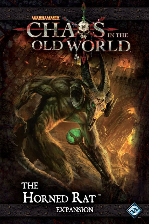 Warhammer Fantasy Chaos Old World Board Game: The Horned Rat Expansion