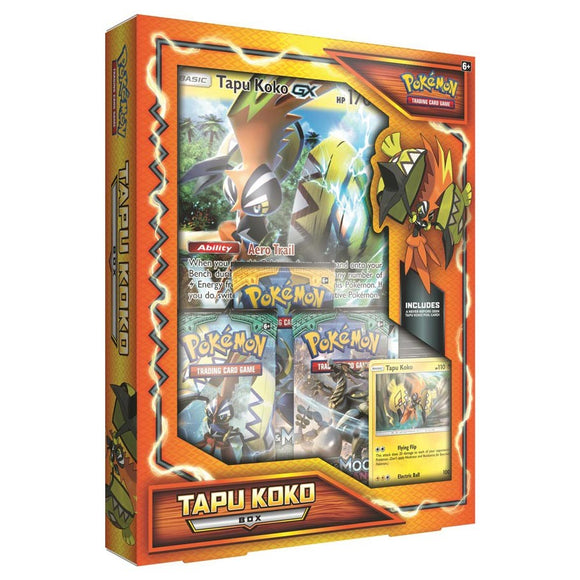 Pokemon TCG Tapu Koko Box (International Version)