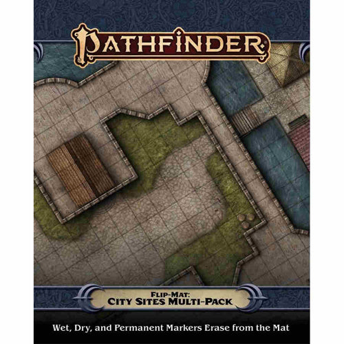 Pathfinder Flip Mat City Sites Multi-pack