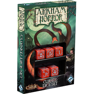 Arkham Horror: Cursed Dice Red