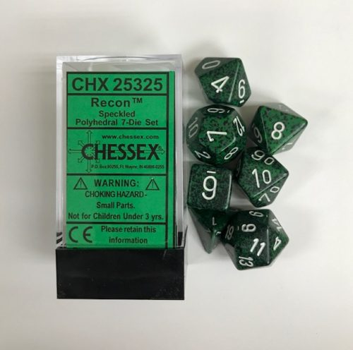Chessex Speckled Recon 7ct Polyhedral Set (25325)