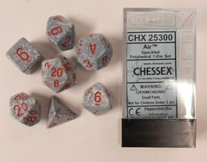 Chessex Speckled Air 7ct Polyhedral Set (25300)