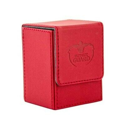 Ultimate Guard 80+ XenoSkin Flip Deck Box Red (10217)