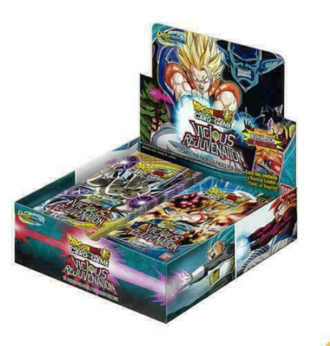 Dragon Ball Super TCG Unison Warrior Series Set 3 Viscous Rejuvenation Box