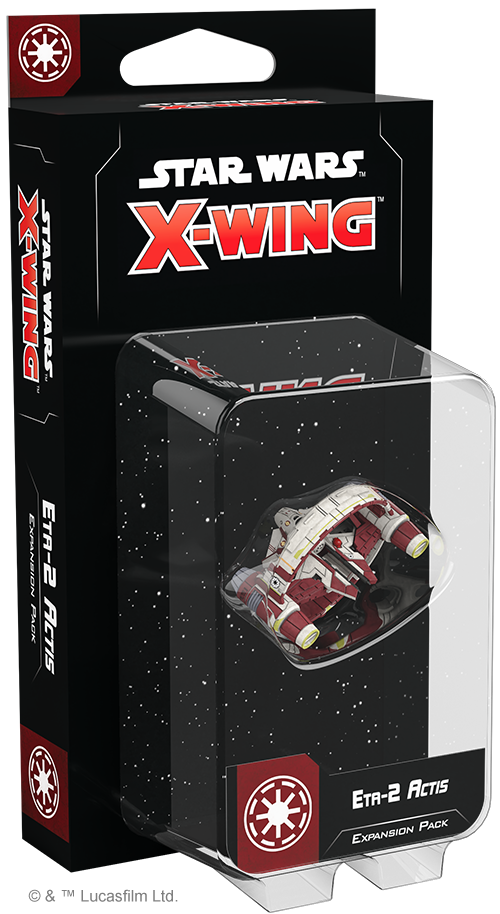 Star Wars X-Wing (Second Edition) - Eta-2 Actis Pack
