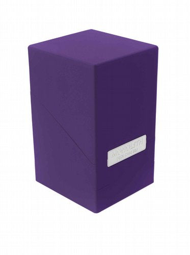 Ultimate Guard Monolith 100+ Deck Box Purple (10325)