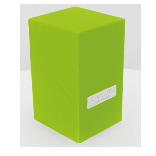 Ultimate Guard Monolith 100+ Deck Box Light Green (10326)