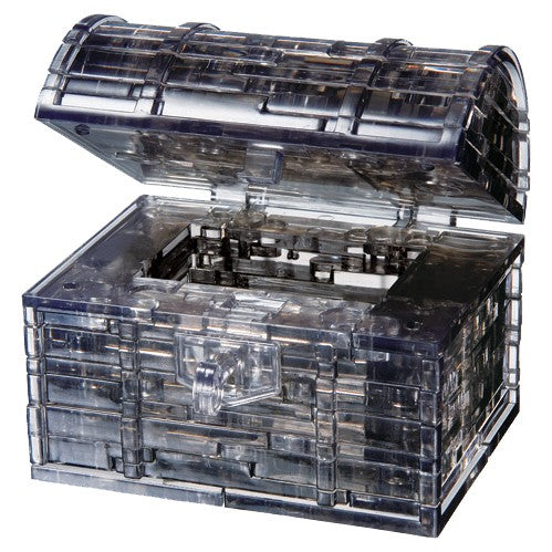 3D Crystal Puzzles: Treasure Chest Black
