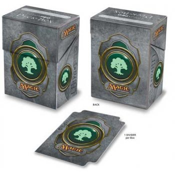 Ultra Pro Deck Box Magic the Gathering Mana v3 Green (82450-3)