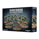 Warhammer 40,000 Necron Warriors with Canoptek Scarabs 9th Edition
