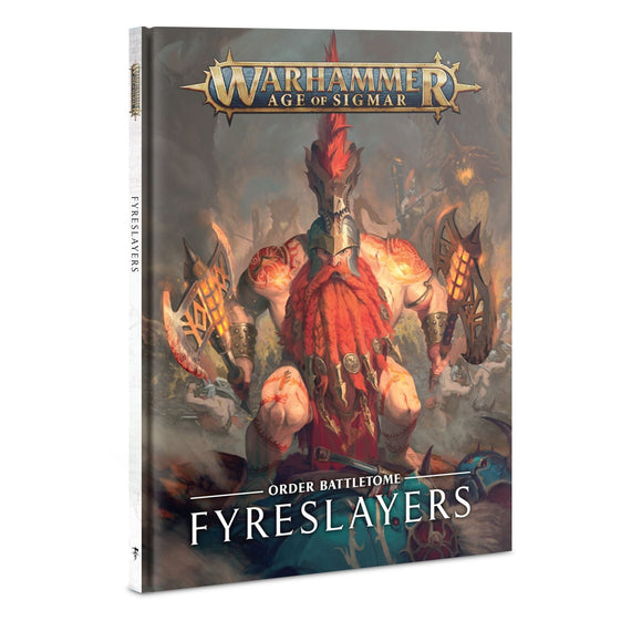 Warhammer Age of Sigmar Battletome Fyreslayers