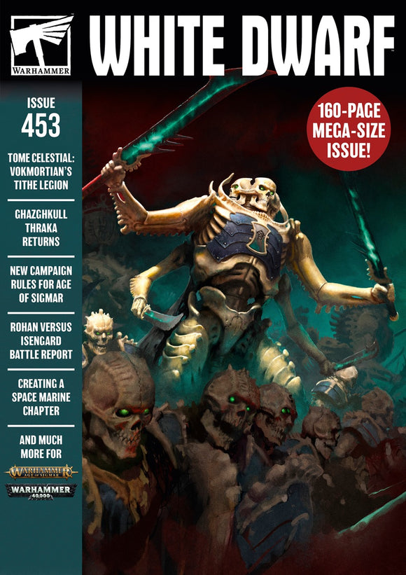 White Dwarf April 2020 - Warhammer 40k / Age of Sigmar