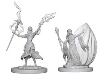 D&D Nolzur's Marvelous Unpainted Miniatures: Elf Female Wizard