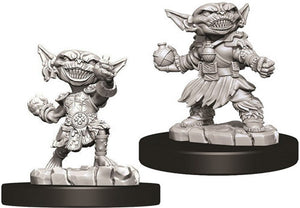 Pathfinder Deep Cuts Unpainted Miniatures: Female Goblin Alchemist