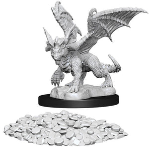 D&D Nolzur's Marvelous Unpainted Miniatures: Blue Dragon Wyrmling