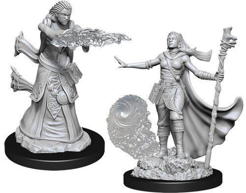 D&D Nolzur's Marvelous Unpainted Miniatures: Female Human Wizard