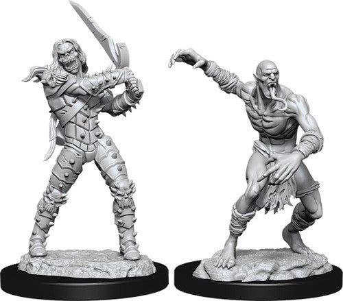 D&D Nolzur's Marvelous Unpainted Miniatures: Wight & Ghast