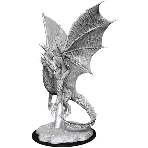 D&D Nolzur's Marvelous Unpainted Miniatures: Young Silver Dragon